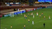 1st Half Goals & Highlights - AS Monaco 1 - 1 Valencia CHAMPIONS LEAGUE 25.08.2015