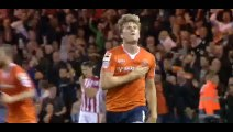 Goal McGeehan - Luton 1-1 Stoke City - 25-08-2015 Capital One Cup