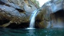 Canyon torrent de Chalamy Verrés Chamdepraz Pont St Martin Aoste Italie