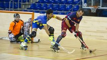 Resum del partit amistós entre el Barça Lassa (hoquei patins) i el Tona