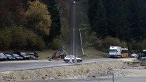 Horrifying Car Crash Test Shows You What A 200km/H (125m/H) Crash Looks Like