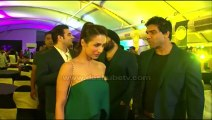 Malaika Arora Khan looking HOT and SEXY in green outfit at Transform Gym All India Brand Launch