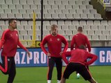 United trenują na Jan Breydelstadion