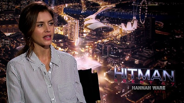 Hitman: Agent 47 - Exclusive Interview with Rupert Friend, Hannah Ware & Zachary Quinto
