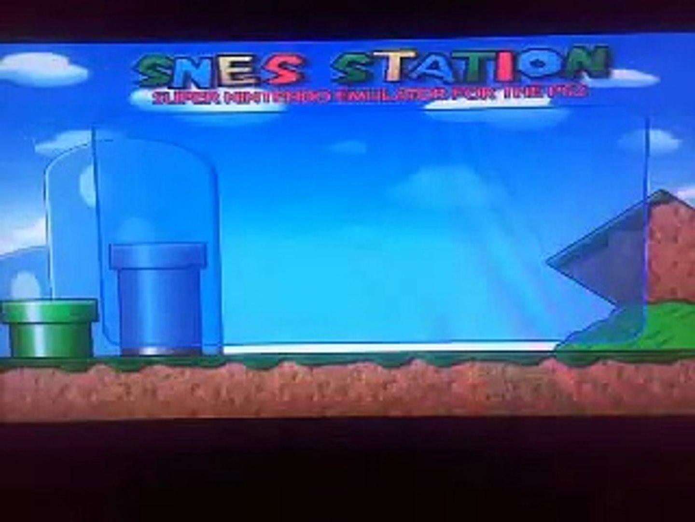 SNES Emulator Running on PS3
