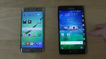 Samsung Galaxy S6 Edge vs. Samsung Galaxy Note Edge - Which Is Faster (4K)_HD