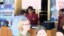 Howie Mandel Goes in Disguise to Prank Americas Got Talent Fans Americas Got Talent 2014