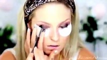 Girls Night Out Makeup Tutorial Clubbing Brown Smokey Eye