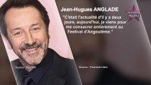 """Jean-Hugues Anglade """"espère être à la hauteur"""" après la fusillade dans le Thalys"""