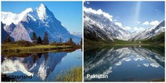 Top Places of Pakistan Vs Other Countries | Everyone Must Know | Never Seen Before | Gilgat | Hunza | Fairy Meadows |