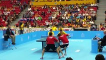 Table Tennis Gold Match   Pan Am Games 2015 | table tennis tricks