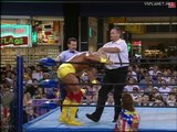 Hulk Hogan vs Big Bubba Rogers, WCW Monday Nitro #1 04.09.1995