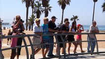 Skateboarding at Venice Skate Park, Part 8
