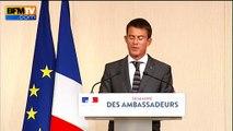 """Chômage: """"Les chiffres de juillet vont dans le bon sens"""", estime Valls"""