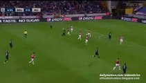 Brugge big chance _ Club Brugge v. Manchester United - UCL 15-16 Play-offs 26.08.2015 HD