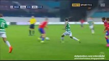 Sporting 1st chance - CSKA Moscow v. Sporting Lisbon - UCL 15-16 Play-offs 26.08.2015 HD