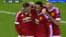 Wayne Rooney Individual Highlights (All Goals) vs Club Brugge - Club Brugge v. Manchester United - UCL 26.08.2015