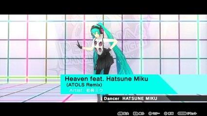 Persona 4: Dancing All Night (JP) - Heaven feat. Hatsune Miku (ATOLS Remix) [Video & Let's Dance]