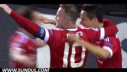 Champions League Play off | Club Brugge (1) 0-4 (7) Man United | Video bola, berita bola, cuplikan gol