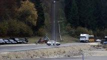 Crashs de voitures à 200 km/h