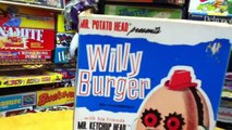 Mr  Potato Head STRANGE FRIEND Willy Burger & Mr  Ketchup Head, Classic Toy Review By Mike Mozart
