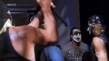 Hogan, Sting & 3 Aces & Eights Members Backstage - Impact 23/8/2012