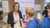 """Justine Henin reçoit un chèque de 6500 euros pour sa fondation """"Justine for kids"""""""