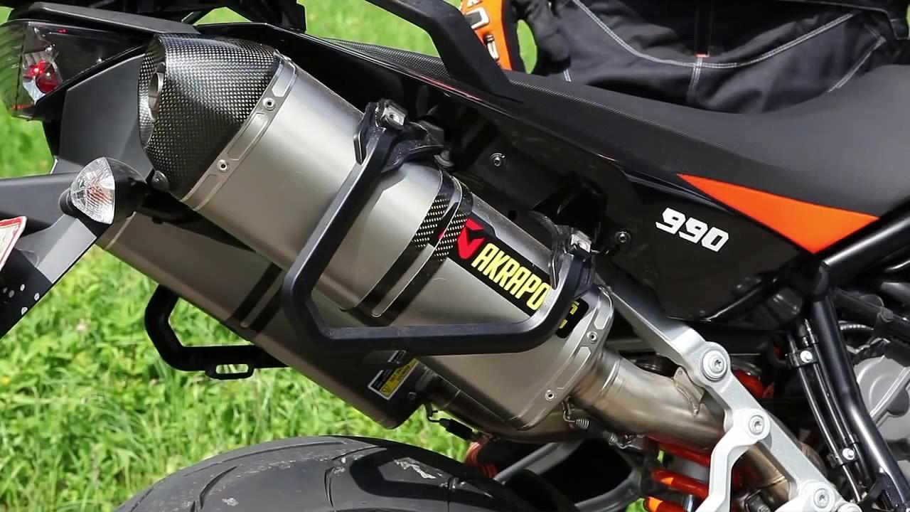 KTM Akrapovic Auspuff Sound für KTM 990 SM T / KTM 990 SM R – www.rebike.de