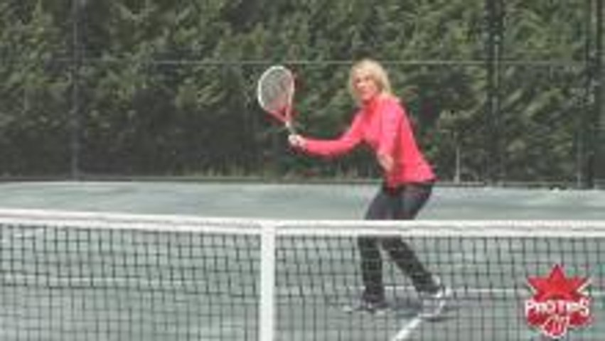 Tracy Austin: Tennis Volley Tips