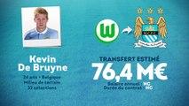 Officiel : Man City lâche plus de 75 M€ pour Kevin De Bruyne !