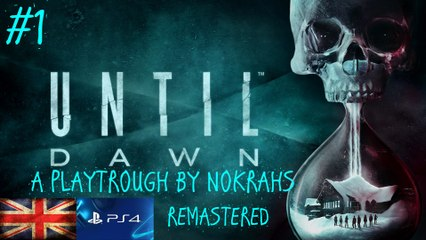 """Until Dawn"" ""PS4"" - ""Remastered"" ""WalkTrough"" (1)"