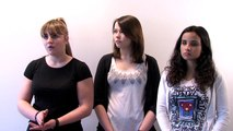 Les élèves présentent leur projet STMG