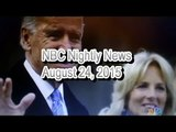 "NBC Nightly News circles September 23rd in red; Mr. Biden: ""I'll decide by then"""