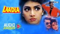 Laadla Audio Songs Jukebox   Anil Kapoor, Sridevi, Raveena Tandon, Anand Milind