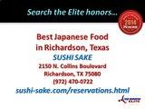 SUSHI SAKE | Best Japanese Food and Sushi in Richardson, Texas