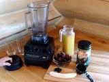 Raw Power Smoothie with Vita-Prep Vita Mix Blender from Raw Power