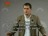 C's Albert Rivera 11/11/2008. Rueda de Prensa en el parlament-Roda de Premsa al Parlament