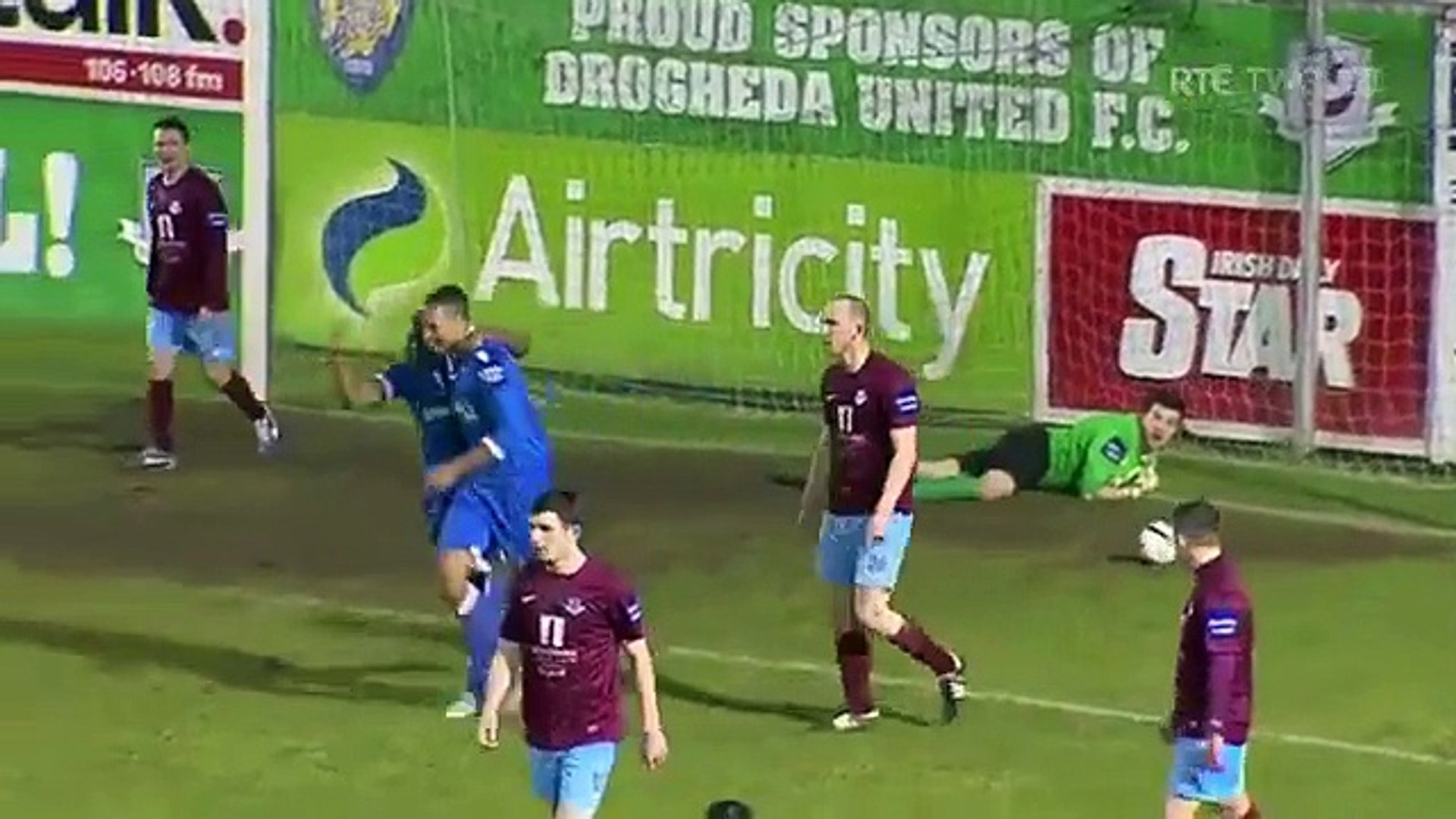 Drogheda United 2-2 Limerick - 15th March 2013