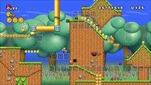 NSMBW Custom Level Mario and the Glow Blocks [v1] New Super Mario Bros Wii