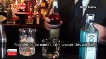 """Italian Cocktails & Drinks"": Negroni & ""Molecular Negroni ""(2 of  6) - by Stile Italia TV"