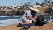 Sunset Cliffs San Diego Surfing & Scenery Video  - Updated 2015