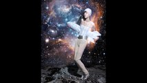 Mae Lapres by Benjamin Kanarek for Harper's BAZAAR China in Fly me to the Moon