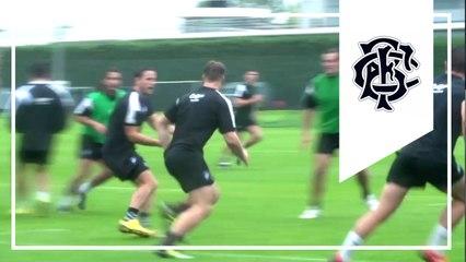 Barbarians v Samoa - match & lineout training