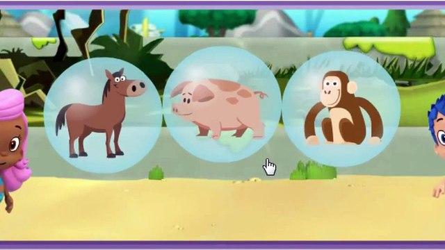 Nick jr Bubble Guppies Friend Finder Lonely Rhino Cartoon Animation Game Play Walkthrough