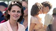 Kristen Stewart besa a Jesse Eisenberg en el set de la nueva película de Woody Allen