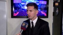 """Leo Messi: """"Estoy aquí gracias a mis compañeros"""""""
