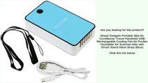 Mixed Gadgets Portable Mini Air Conditioner Travel Handheld USB Rechargeable Cooling Fan Ai