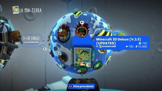 Little Big Planet 3 (PS4) - Minecraft 3D Deluxe