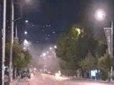 Emeutes à Salonica en Grèce 10-9-05