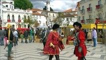 Torres Novas feira medieval Portugal (HD)